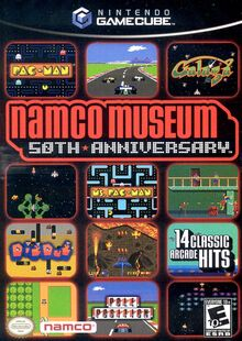 Namco Museum 50th Anniversary cover art