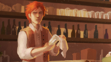 Kvothe in the bar