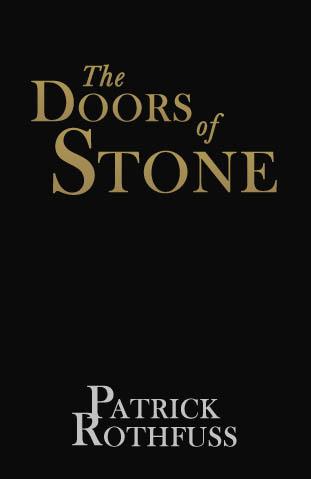 Resultado de imagen para doors of stone cover patrick rothfuss