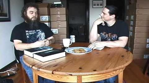 Patrick Rothfuss Talks with Peter Orullian - Part One of Three