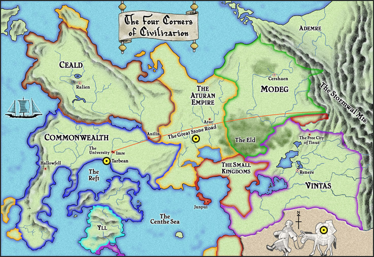 Image   Map. | Kingkiller Chronicle Wiki | FANDOM powered by Wikia
