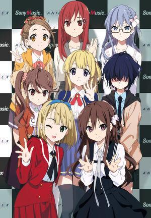 Horihori Characters