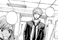 Toranosuke arrives
