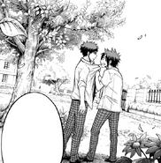 Ryu asks Kentaro to kiss him