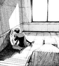 Urara kisses Ryu