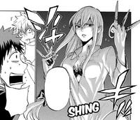 Leona threatens Ryu and Toranosuke