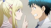 Urara tells Ryu to kiss Meiko