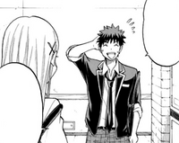 Ryu asks Urara if she would like to go book shopping with him