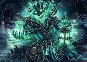 Thanatos collecting a soul