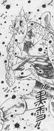 Demonio Gris usando Dark Snow