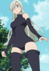 Elizabeth Initial Outfit Anime
