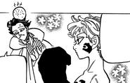 Derieri hitting Monspeet's head