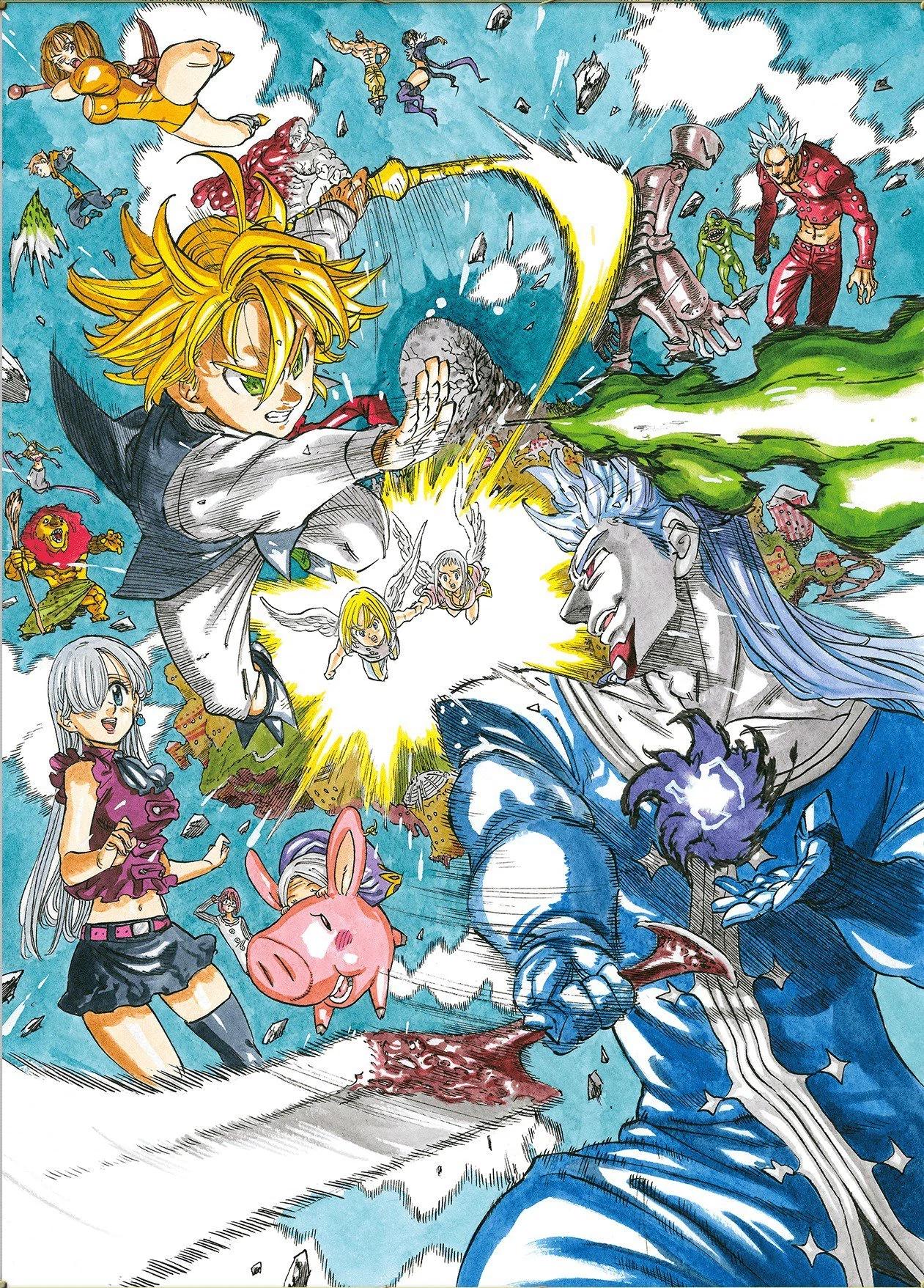 Nanatsu no taizai prisioneros del cielo wiki nanatsu no - Nanatsu no taizai wiki ...