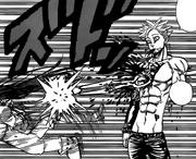 King attacking Guila through Ban
