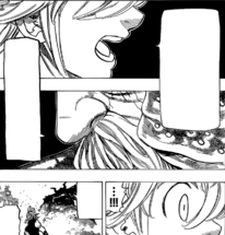 Meliodas and the Demon King realizing the truth about Estarossa