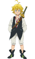 Meliodas Anime Season 3 Design