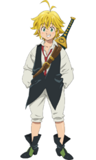 Meliodas Anime Season 3 Design