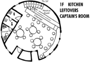 Boar Hat Floor Map 1F