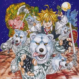 Seven Deadly Sins - CD Cover Anime