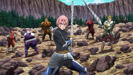 Holy Knights battle Henrickson Anime