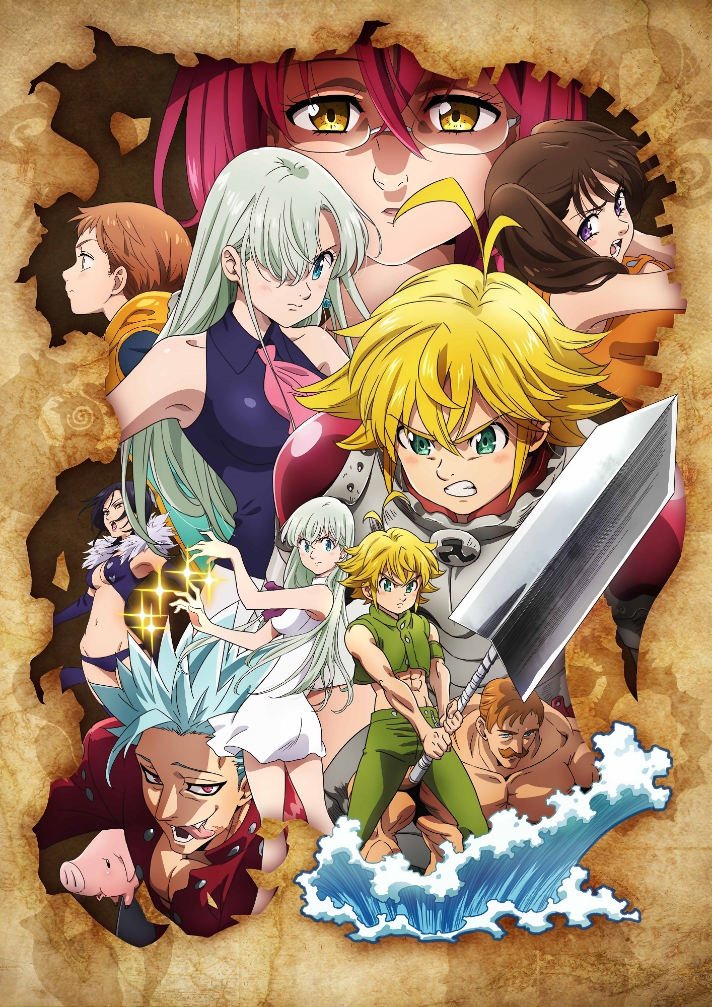The Seven Deadly Sins (Nanatsu no Taizai) Sezona 3 Epizoda 13