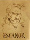 Escanor Wanted Poster Anime