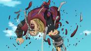 Twigo defeated by Meliodas