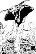 Melascula's Snake Form