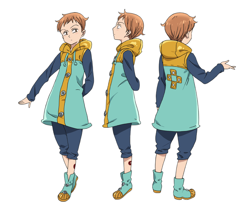 King anime character designs 2 png