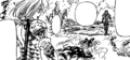 Guila and Jericho defeating Meliodas and Ban.png