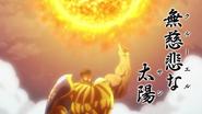 Escanor using Cruel Sun