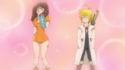 Diane growing feelings for Meliodas