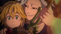 Ban trying to take Meliodas sword.png