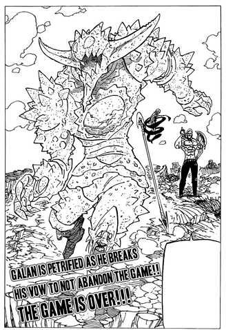 File:Galand petrified by his own power.png