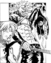 Ban takes Zeldris away from the Demon King