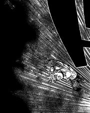 Meliodas se lanza contra el Rey Demonio