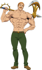 Escanor Anime Season 3 Design