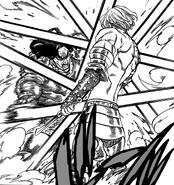 Dreyfus attacking Hendrickson in fury