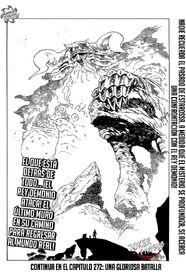 Rey demonio aparece en el purgatorio