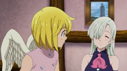 Elizabeth introduces herself to Solaad