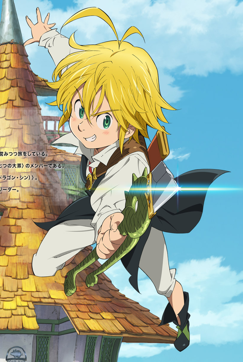 Image - Meliodas anime art.png | Nanatsu no Taizai Wiki ...