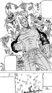Escanor destroys the reanimated soldiers