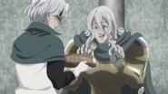 Hendrickson offers Zaratras the poisoned pie