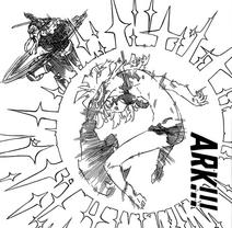 Nerobasta using Ark on Derieri