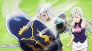 Zaratras protecting Elizabeth