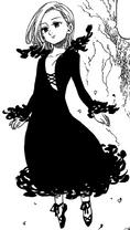 Elaine resurrected by Melascula