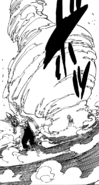 Meliodas holding the power of Revenge Counter