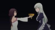 Zaneri gives Elizabeth her trial