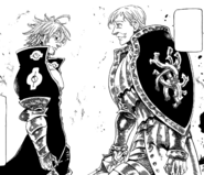Escanor and Estarossa about to fight