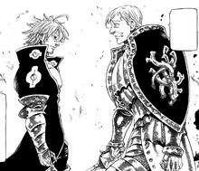 Escanor and Estarossa about to fight